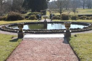 Arlington Court garden