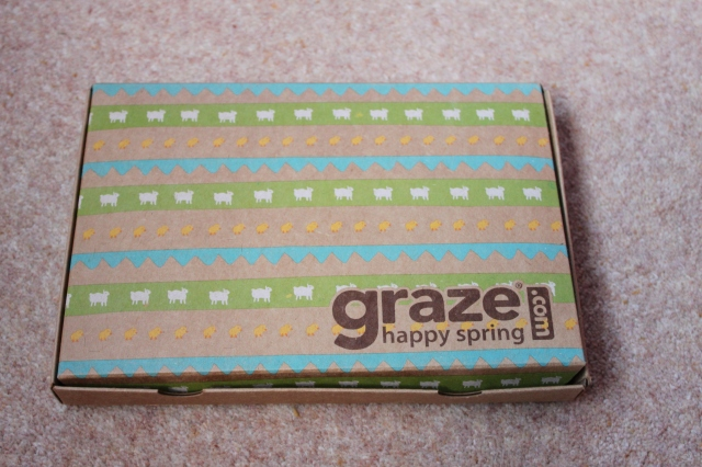 Graze box: spring edition