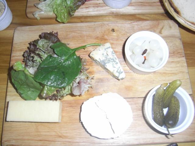 Bakerie Manchester cheese platter