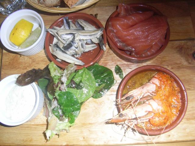 Bakerie Manchester seafood platter