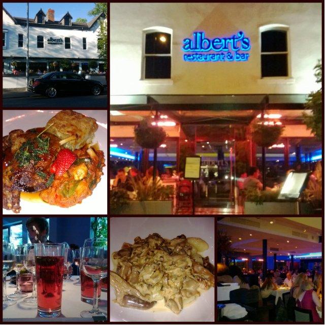 Alberts collage