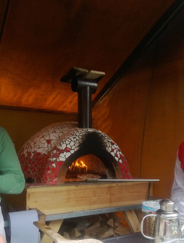 Lowry outlet food festival pizza oven