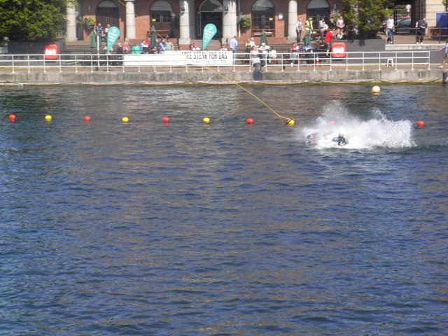 Salford Quays wake boarding wake park