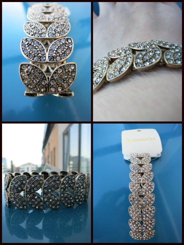Accessorize deco petal stretch bracelet