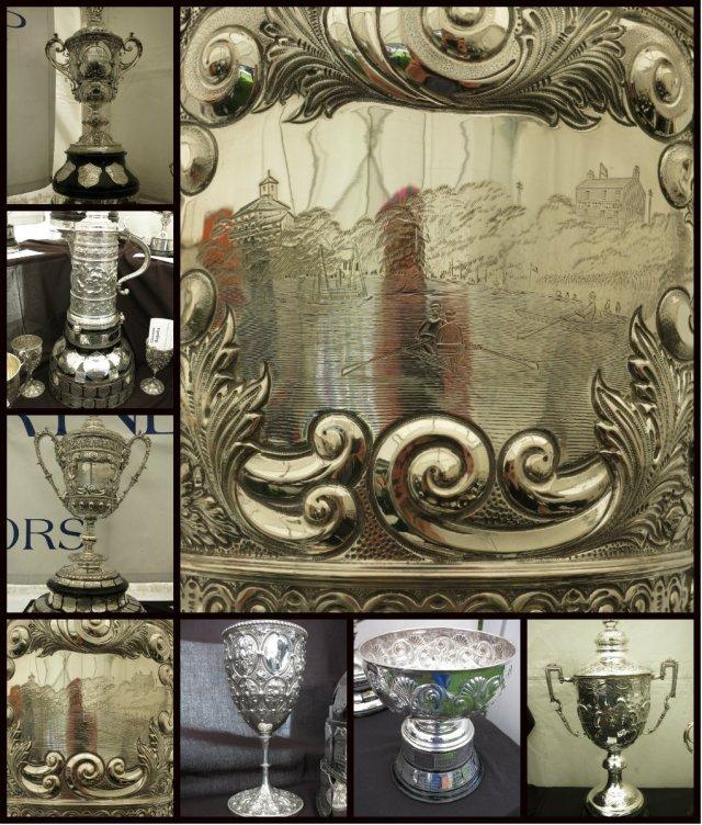 Chester regatta trophies