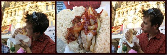 manchester grillstock hotdog
