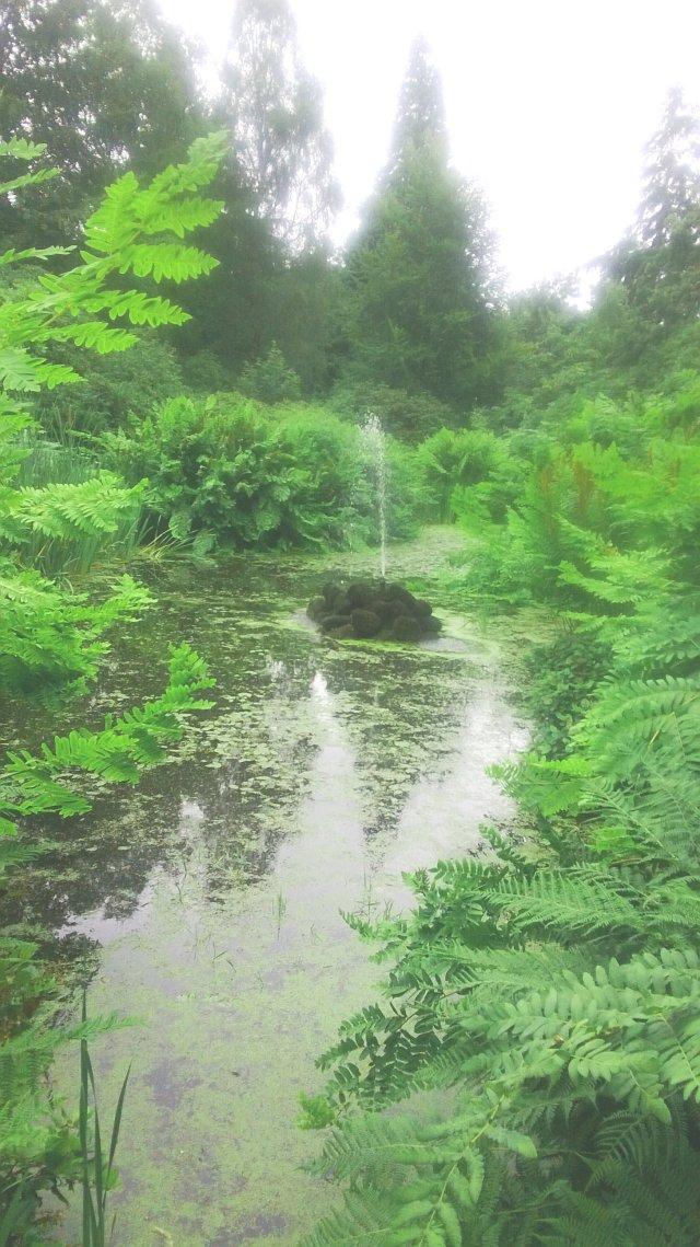 tatton park charlotte's garden fountain