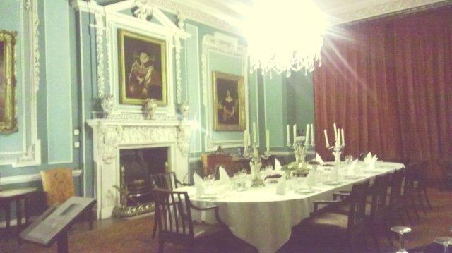 Tatton Park dining room