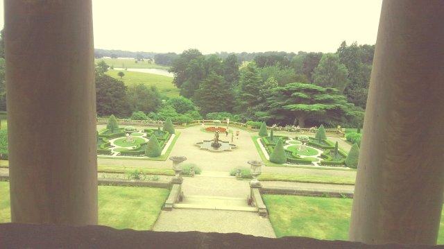 Tatton park garden view