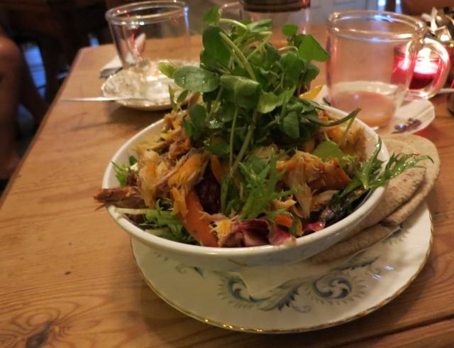 The art of tea didsbury crayfish salad