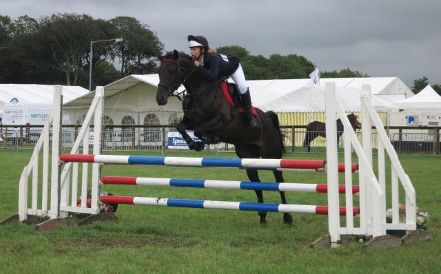 show jumping pembrokeshire county show 2