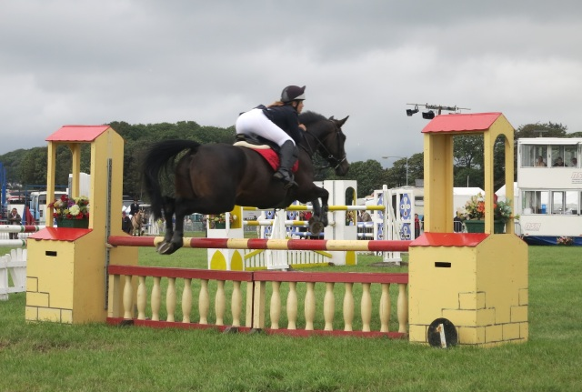 show jumping pembrokeshire county show