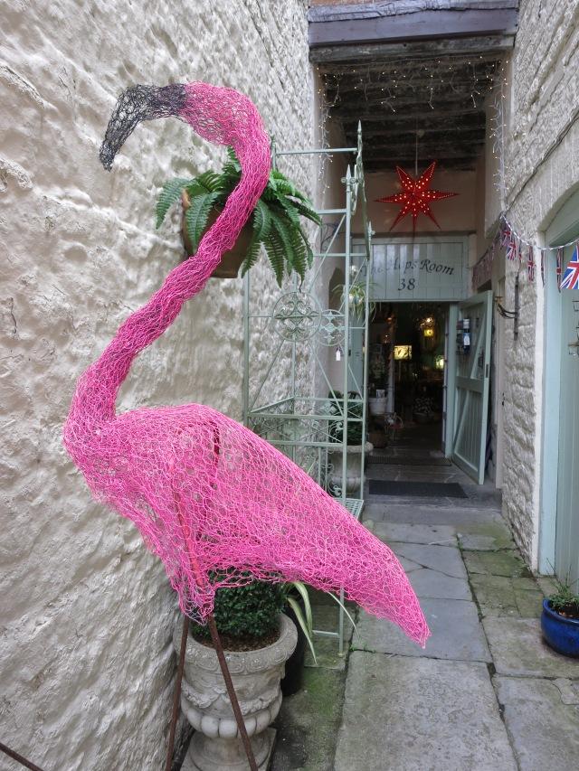 The Hops Room Wells flamingo