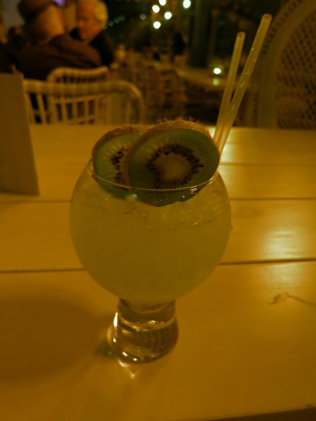 Grand Pacific Manchester kiwi and honey cocktail