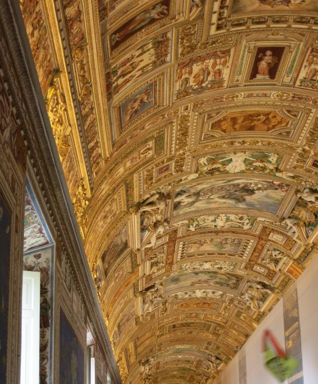 Vatican ceiling 2