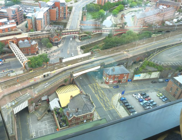 View from cloud 23 Manchester