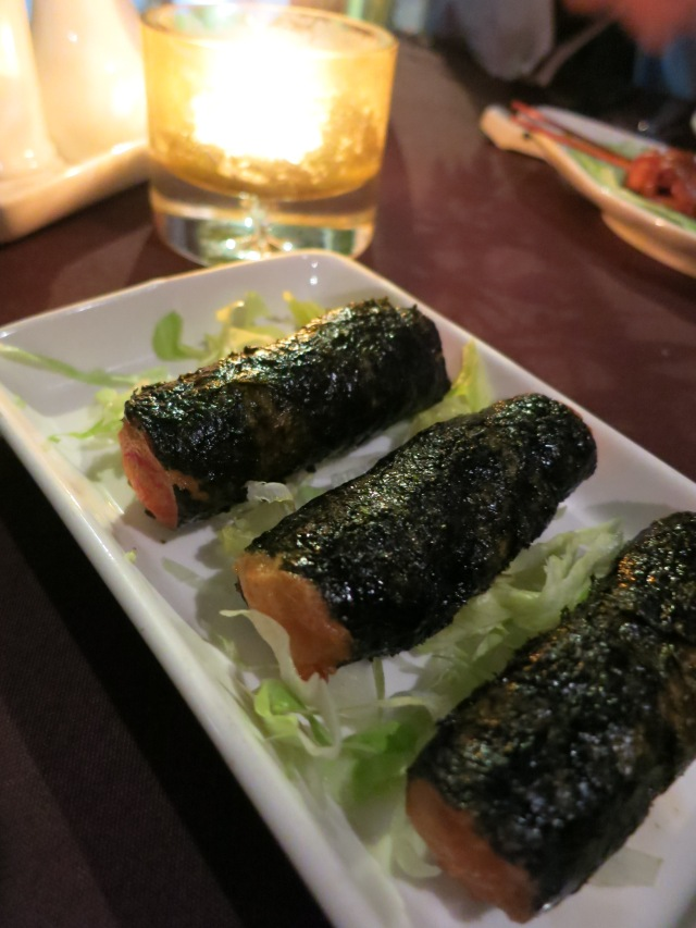 Ocean Treasure Chicken and prawn seaweed rolls