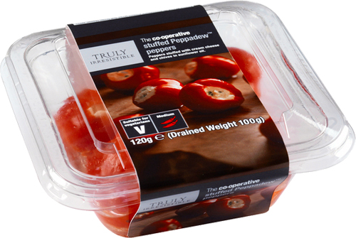 The Co-operative Truly Irresistable Peppadews Stuffed with Cream Chees
