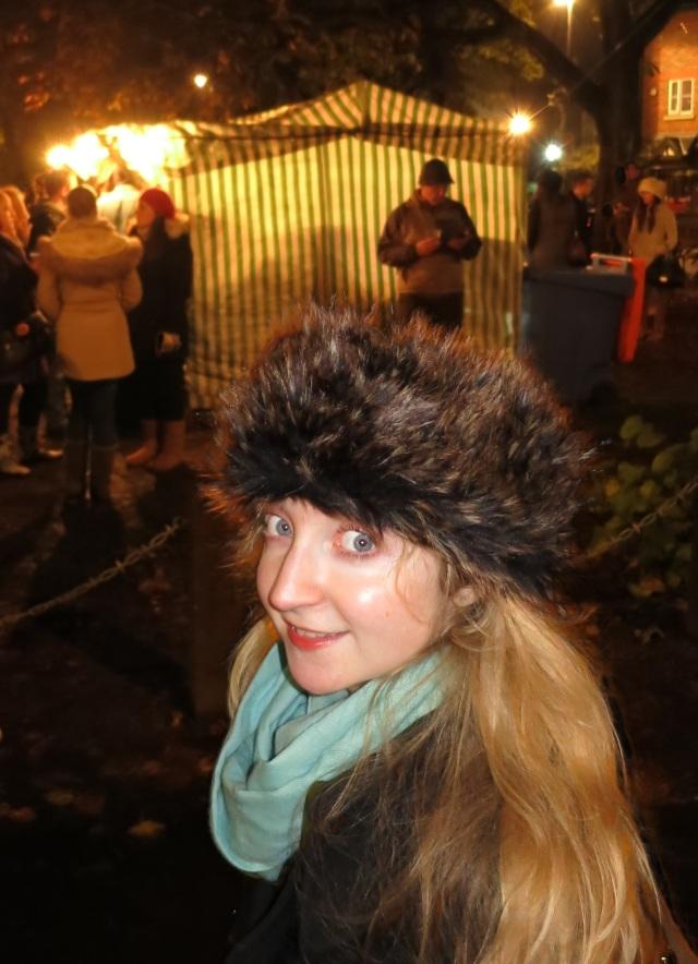 Furry hat chorlton fireworks