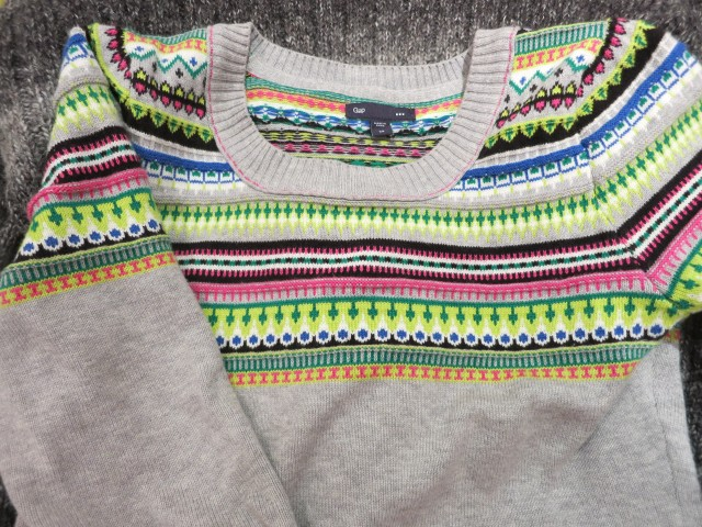Gap stripy jumper